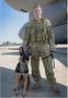 No 77 Squadron Association Deployments photo gallery - Pitch Black 2016.  ACW Darcy Meredith-Vincent, with No 2 Security Force Squadron and her Military Working Dog